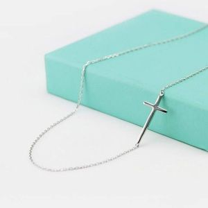 Sterling Silver Cross on Chain ✝️